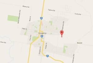 Kingaroy Abattoir WTP map